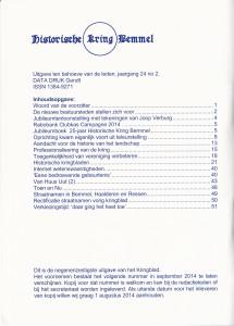 inhoud kringblad mei 2014